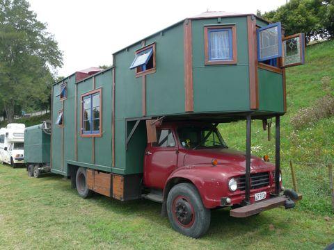 Parachute festival 2011 house truck