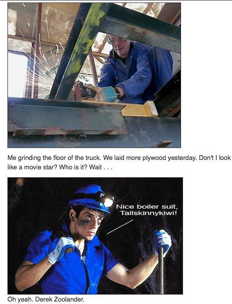 Fixing truck