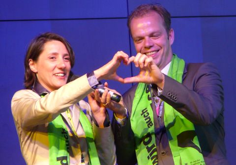 Kirchentag opening heart