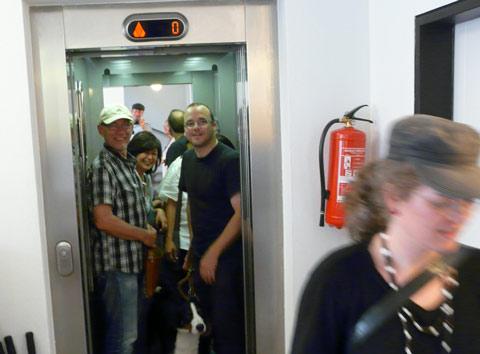 Elevator hotel prague
