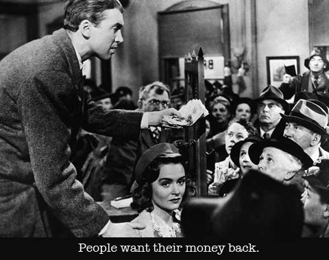 3wonderful life they want money back
