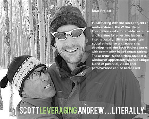 Philanthropy leveraging scott