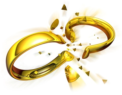 Rings broken divorce