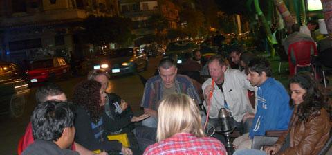 Cairo mascara street
