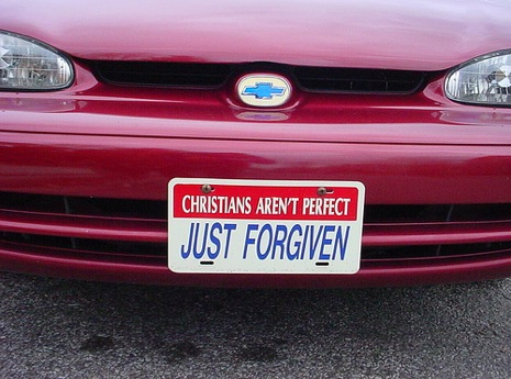 Christians arent perfect just forgiven
