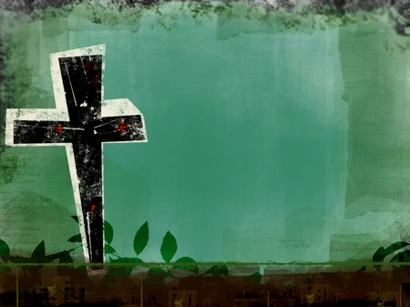Easter image cross
