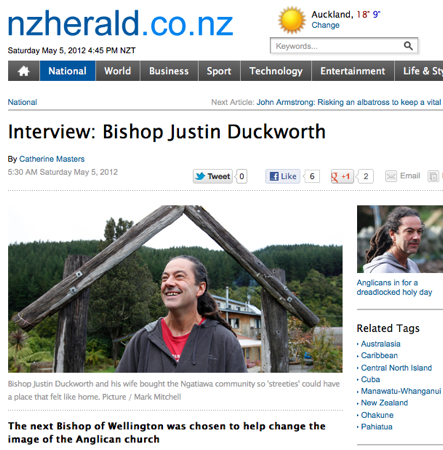 Nz herald bishop interview