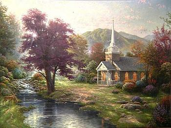 Thomas Kincade streams of living waters xlarge