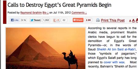 Destroy pyramids