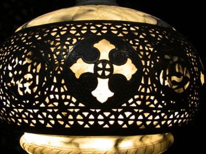 Coptic lamp