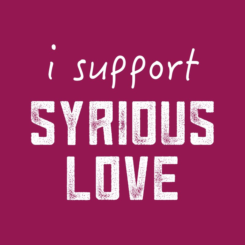 I support syrious love