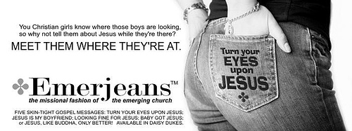 jesus is a brand of jeans thesis Dating jesus has 374 ratings and 93 reviews a story of fundamentalism, feminism, and the american have the assurance of salvation that her brand of.