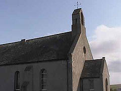 a typical orkney church