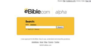 Ebiblecom-Start